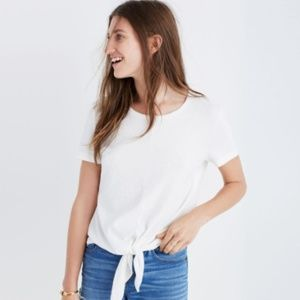 Madewell Tie-front Tshirt